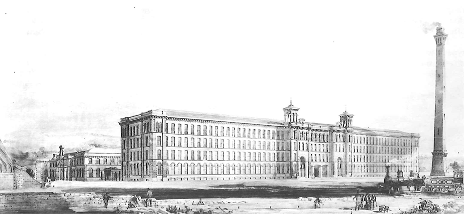 Image of Saltaire Mills, Shipley, West Yorkshire